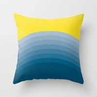 voda Throw Pillow by Trebam | Society6