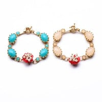 Bonsoir Braclet - Blue and Pink
