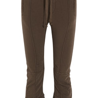 Haider Ackermann - Cotton-terry tapered track pants