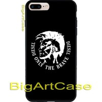 Best Diesel Only the brave Logo CASE COVER iPhone 6s/6s+7/7+8/8+,X and Samsung