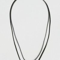 Create Suede Thong Necklace*
