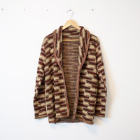 Vintage Marled Tribal Knit