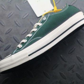 ESB8KY Converse Addict Fashion Canvas Flats Sneakers Green