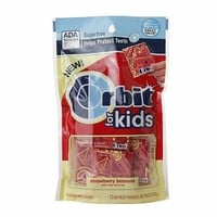 Orbit For Kids Micropacks, Strawberry Banana