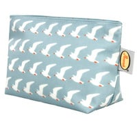 Anorak Seagulls Waterproof Cosmetic Bag