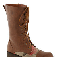Blooming Saddles Boot | Mod Retro Vintage Boots | ModCloth.com