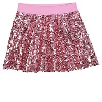 SEQUIN SKATER SKIRT | GIRLS SWEET SPARKLE THE COLLECTIONS | SHOP JUSTICE