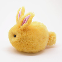 Daffodil Bunny Fluffy Yellow Stuffed Toy Plushie -Large
