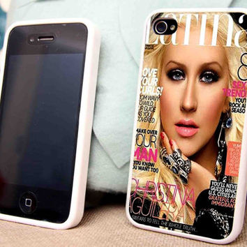 Christina Aguilera for iPhone 5 5C 5S iPhone 4/4S Samsung Galaxy S3 S4 case