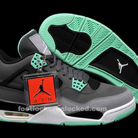 "Air Jordan 4 Retro ""Green Glow"" Release Details"