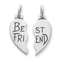 """Best Friend"" Charm Set 