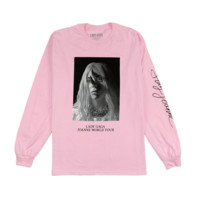 HORNS PINK LONG SLEEVE T SHIRT