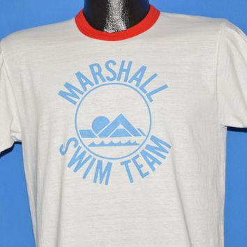 70s Marshall Swim Team Coach t-shirt Medium