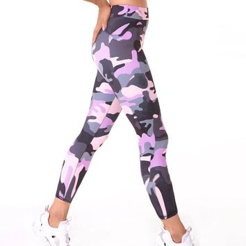Skinny Camouflage Women Leggings