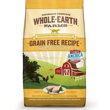 Whole Earth Chicken Cat Dry Food 10 lbs