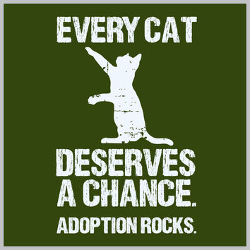 Every Cat Deserves A Chance TEE