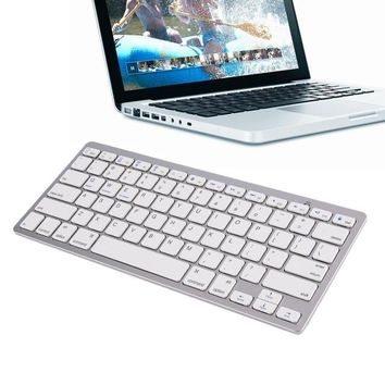 Ultra-slim Wireless Bluetooth 3.0 Keyboard For MAC, Windows, Android, iOS
