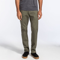 Volcom Frickin Modern Mens Pants Military  In Sizes