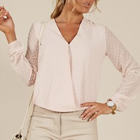 Grown Woman Top in blush Produced By SHOWPO