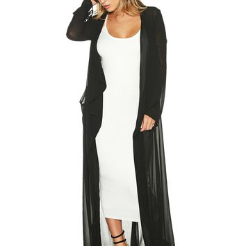 The Long NW Trench - Outerwear - Womens Nakedwardrobe