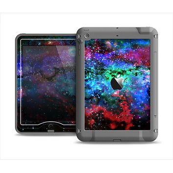 The Neon Colored Paint Universe Apple iPad Mini LifeProof Nuud Case Skin Set