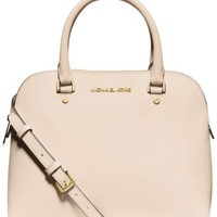 MICHAEL Michael Kors Cindy Medium Dome Satchel | macys.com