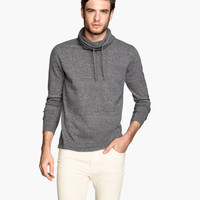 H&M Chimney-collar Sweater $29.95