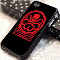 Hail HYDRA customized for iphone 4/4s/5/5s/5c, samsung galaxy s3/s4, and ipod touch 4/5