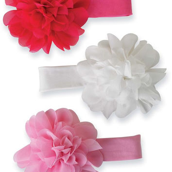 Mud Pie Chiffon Flower Soft Headband