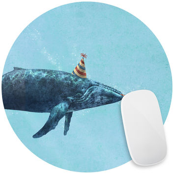Party Whale Mouse Pad Decal