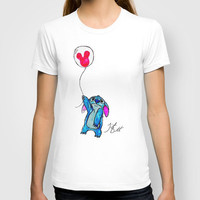 Stitch doesn't want to leave Disney World T-shirt by Trinity Bennett | Society6