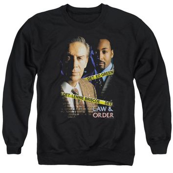 Law And Order - Briscoeandgreen Adult Crewneck Sweatshirt