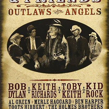 Willie Nelson - Willie Nelson and Friends - Outlaws & Angels