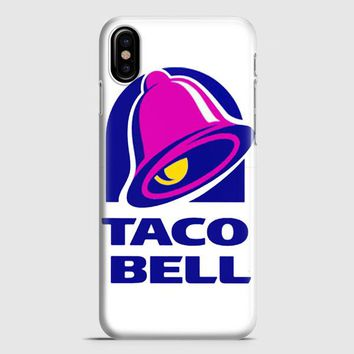 Taco Bell  Tshirt White iPhone X Case