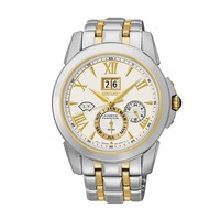 Seiko Watch - Men's Kinetic Le Grand Sport Two Tone Stainless Steel - SNP066