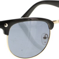 Glassy Morrison Black Sunglasses