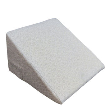 "Comfort Rest Systems Memory Foam Orthopedic Wedge 12"" Pillow (Replacement Cov..."