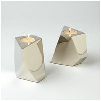 DwellStudio CONVERGE VOTIVE - NICKEL
