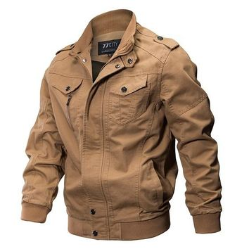 Spring Autumn Military Style Tactical Jacket  Cotton Army Pilot  Clothing Outdoor Hunter Air Force Man Jackets
