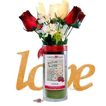 You Are The One! Greeting Roses