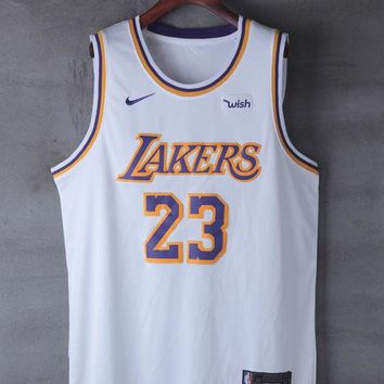 2018-2019 LeBron James Los Angeles Lakers #23 Nike Fanatics Branded Association Edition jerseys - Best Deal Online