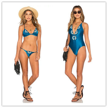 Hot Summer New Arrival Beach Sexy Swimsuit Print Pc Embroidery Swimming Strong Character Ladies Swimwear Bikini [4970316036]
