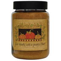 Give Thanks Jar Candle, 26oz