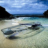 Perfect for Hawaii Clear Canoe - OpulentItems.com