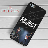 5sos reject-nay for iPhone 6S case, iPhone 5s case, iPhone 6 case, iPhone 4S, Samsung S6 Edge