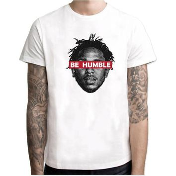 Kendrick Lamar BE HUMBLE Graphic Tee's