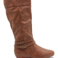 Candies 146 Three Cleek Buckles Boot