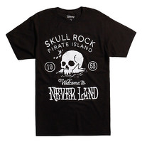 Disney Peter Pan Pirate Island Skull Rock T-Shirt