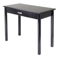 Winsome Wood Liso Writing Desk with Drawer - Dark Espresso