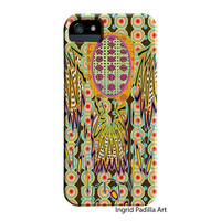 Dreamer iPhone 5 Case, iPhone 4 Case, Hipster, Funky, colorful Art, iPhone cases, by Ingrid, iPhone 5S case